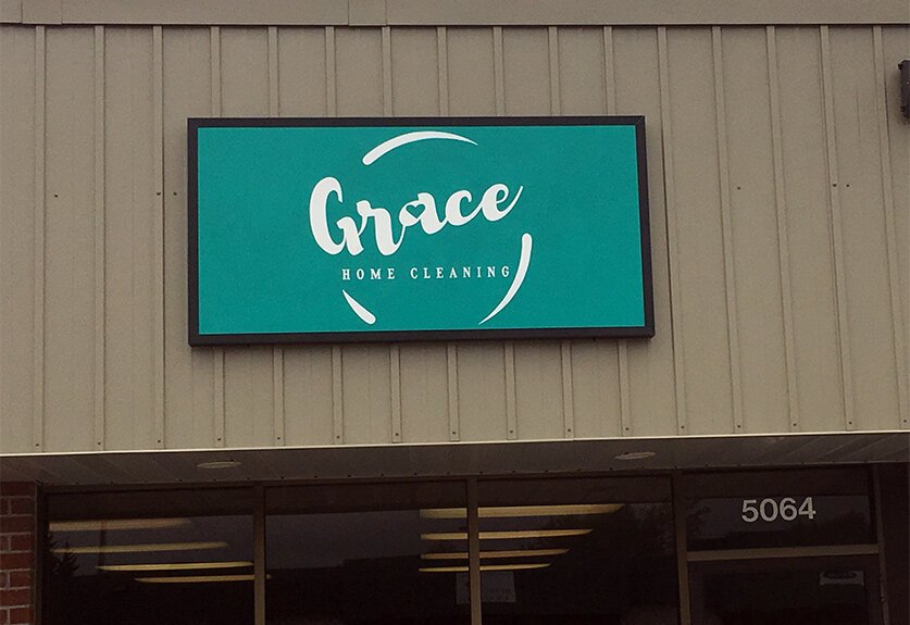 Storefront - Grace Home Cleaning - Omaha Nebraska