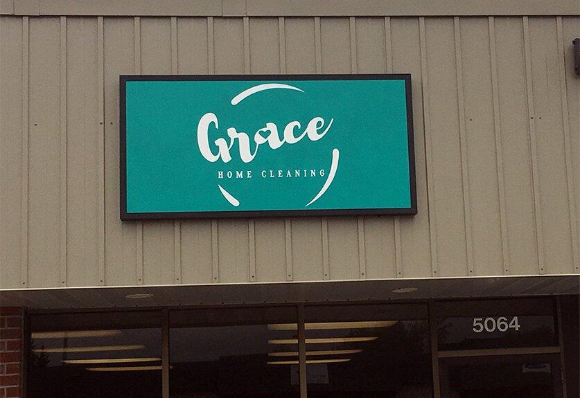 Storefront - Grace Home Cleaning - Omaha Nebraska