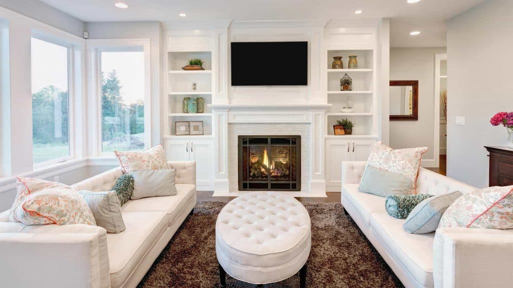 Living Room Cleaning - House Cleaning Company in Omaha