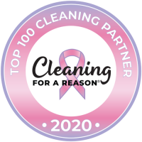 2020 Top 100 Cleaning Partner Button (Cleaning For A Reason)